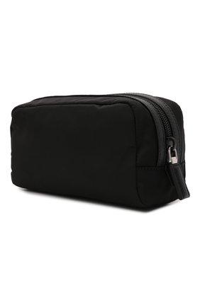 Мужской несессер PRADA черного цвета, арт. 2NA045-2DMH-F0002 | Фото 2 (Материал: Текстиль)