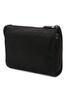 Мужская клатч PRADA черного цвета, арт. 2NE789-2DMH-F0002 | Фото 2 (Материал: Текстиль)