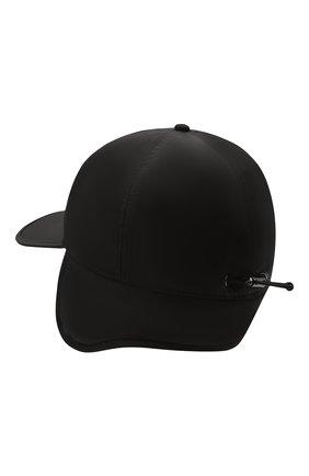 Мужской бейсболка BOGNER черного цвета, арт. 98422487 | Фото 2 (Материал: Синтетический материал, Текстиль)