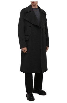 Мужские кожаные челси GIORGIO ARMANI черного цвета, арт. X2M332/XF528 | Фото 2 (Каблук высота: Высокий; Подошва: Массивная; Материал внутренний: Натуральная кожа; Мужское Кросс-КТ: Челси-обувь, Сапоги-обувь)