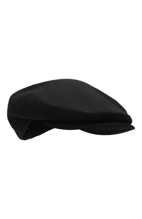Мужская шерстяное кепи DOLCE & GABBANA черного цвета, арт. GH587A/FU22V | Фото 1 (Материал: Шерсть)