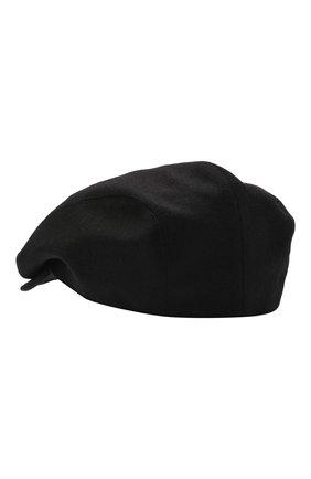 Мужская шерстяное кепи DOLCE & GABBANA черного цвета, арт. GH587A/FU22V | Фото 2 (Материал: Шерсть)