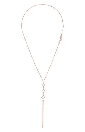Женский слейв-браслет с аквамарином MOONKA розового цвета, арт. tr-sb-aqm   Фото 1 (Материал: Серебро)