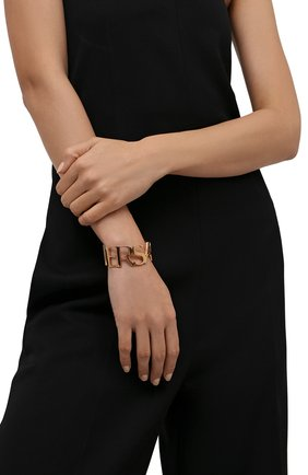 Женский браслет VERSACE золотого цвета, арт. 1002574/1A00620 | Фото 2 (Материал: Металл)
