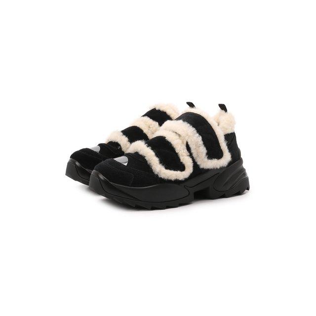 Замшевые кроссовки Sergio Extreme Sergio Rossi