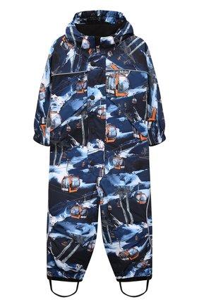 Детский комбинезон polaris MOLO синего цвета, арт. 5W21N201   Фото 1 (Рукава: Длинные; Материал внешний: Синтетический материал; Мальчики Кросс-КТ: Комбинезон-верхняя одежда)