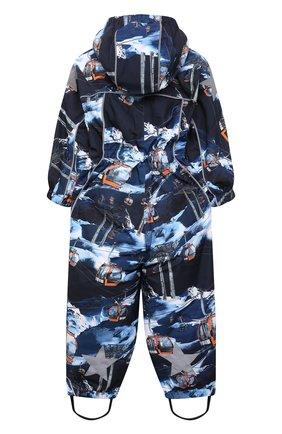 Детский комбинезон polaris MOLO синего цвета, арт. 5W21N201   Фото 2 (Рукава: Длинные; Материал внешний: Синтетический материал; Мальчики Кросс-КТ: Комбинезон-верхняя одежда)