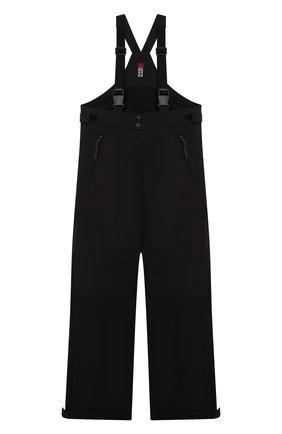 Детские утепленный комбинезон POIVRE BLANC черного цвета, арт. 287041 | Фото 1 (Материал внешний: Синтетический материал; Мальчики Кросс-КТ: Комбинезон-верхняя одежда)