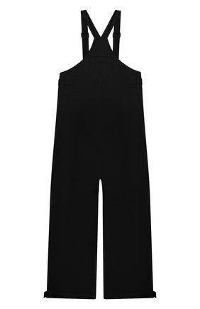 Детские утепленный комбинезон POIVRE BLANC черного цвета, арт. 287041 | Фото 2 (Материал внешний: Синтетический материал; Мальчики Кросс-КТ: Комбинезон-верхняя одежда)