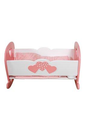 Кроватка для куклы Сердечки | Фото №2