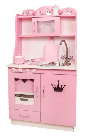 Кухня для куклы с набором посуды | Фото №1
