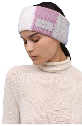 Женского повязка на голову GIORGIO ARMANI разноцветного цвета, арт. 797445/1A712 | Фото 2 (Материал: Шелк, Текстиль, Кашемир, Шерсть)