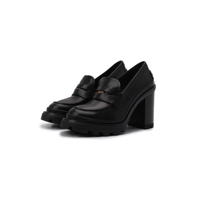 Кожаные туфли Tod's
