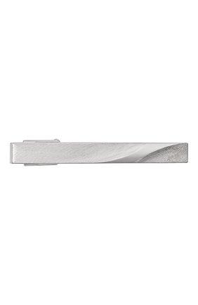 Мужская зажим для галстука LANVIN серебряного цвета, арт. 9919/3 | Фото 1