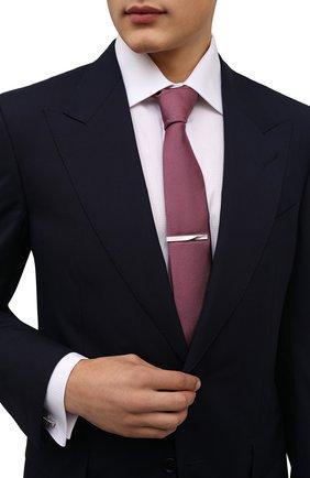 Мужская зажим для галстука LANVIN серебряного цвета, арт. 9919/3 | Фото 2