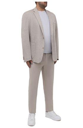 Хлопковые брюки   Фото №2