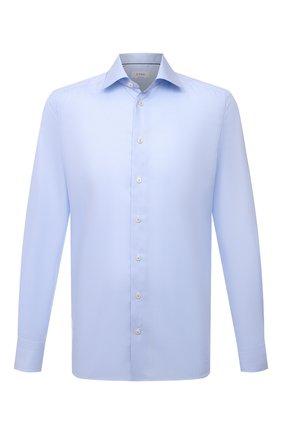 Мужская хлопковая сорочка ETON голубого цвета, арт. 1000 02419 | Фото 1 (Материал внешний: Хлопок; Рукава: Длинные; Случай: Формальный; Принт: Полоска; Рубашки М: Regular Fit; Манжеты: На пуговицах; Воротник: Акула; Стили: Классический; Длина (для топов): Стандартные)