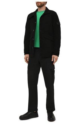 Хлопковые брюки-карго   Фото №2