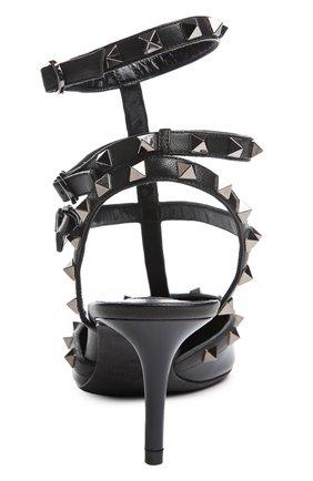 Лаковые туфли Valentino Garavani Rockstud Noir на шпильке   Фото №3