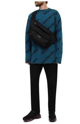 Текстильная поясная сумка Oversized XXL   Фото №2