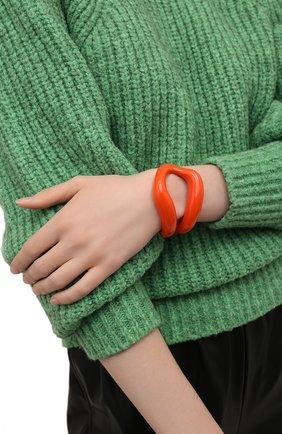 Женский браслет kiss CHLOÉ оранжевого цвета, арт. CHC21AFB25BLQ   Фото 2 (Материал: Металл)