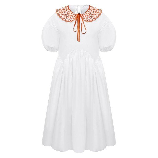 Хлопковое платье Cecilie Bahnsen