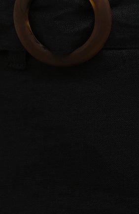 Женская льняная юбка FAITHFULL THE BRAND черного цвета, арт. FF1671-BLK   Фото 5 (Женское Кросс-КТ: Юбка-пляжная одежда, Юбка-одежда; Материал внешний: Лен; Длина Ж (юбки, платья, шорты): Макси; Материал подклада: Вискоза; Стили: Бохо)