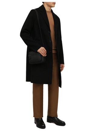 Мужские кожаные челси motok CHRISTIAN LOUBOUTIN черного цвета, арт. 3211081/M0T0K FLAT | Фото 2 (Материал внутренний: Натуральная кожа; Подошва: Плоская; Мужское Кросс-КТ: Сапоги-обувь, Челси-обувь)