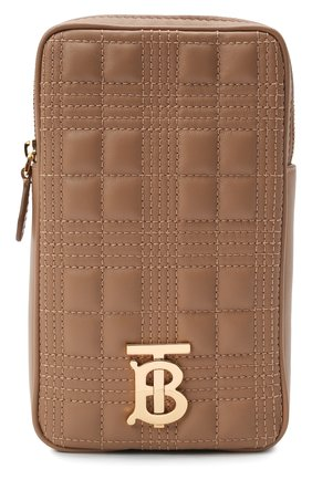 Женская сумка lola mini BURBERRY бежевого цвета, арт. 8044301 | Фото 1 (Материал: Натуральная кожа; Ремень/цепочка: На ремешке; Размер: mini; Сумки-технические: Сумки через плечо)