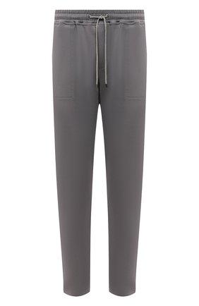 Мужские брюки ZIMMERLI темно-серого цвета, арт. 1343-21903 | Фото 1 (Материал внешний: Синтетический материал; Кросс-КТ: домашняя одежда)