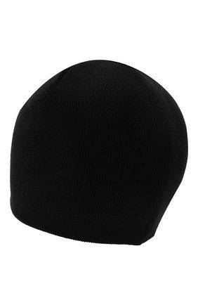 Детского шапка DKNY черного цвета, арт. D31279 | Фото 2 (Материал: Текстиль, Хлопок, Синтетический материал)