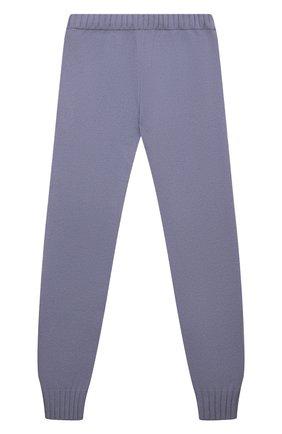 Детские кашемировые брюки GIORGETTI CASHMERE сиреневого цвета, арт. MB1809/N0 C0STE/8A-14A | Фото 2 (Материал внешний: Шерсть, Кашемир; Девочки Кросс-КТ: Брюки-одежда)