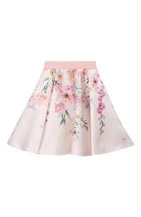 Детская юбка EIRENE разноцветного цвета, арт. 212253 | Фото 1 (Материал внешний: Синтетический материал; Материал подклада: Хлопок; Случай: Повседневный)