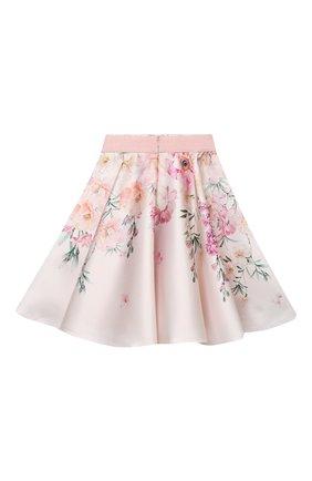 Детская юбка EIRENE разноцветного цвета, арт. 212253 | Фото 2 (Материал внешний: Синтетический материал; Материал подклада: Хлопок; Случай: Повседневный)