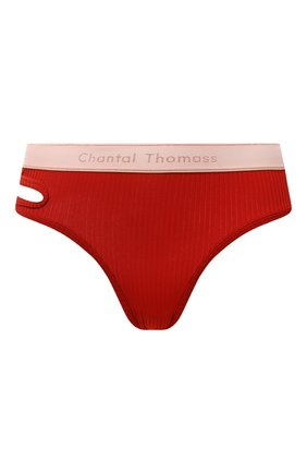 Женские трусы-стринги CHANTAL THOMASS красного цвета, арт. T05C80 | Фото 1 (Материал внешний: Синтетический материал)