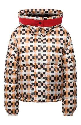 Женская пуховая куртка ADD разноцветного цвета, арт. 4AWG83 | Фото 1 (Материал утеплителя: Пух и перо; Материал внешний: Синтетический материал; Длина (верхняя одежда): Короткие; Материал подклада: Синтетический материал; Рукава: Длинные; Стили: Спорт-шик; Женское Кросс-КТ: Пуховик-куртка)