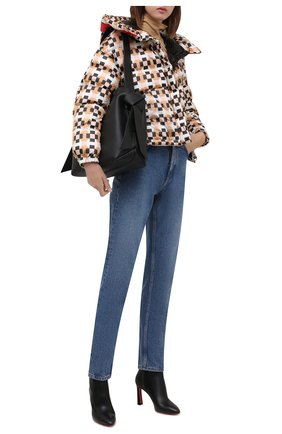 Женская пуховая куртка ADD разноцветного цвета, арт. 4AWG83 | Фото 2 (Материал утеплителя: Пух и перо; Материал внешний: Синтетический материал; Длина (верхняя одежда): Короткие; Материал подклада: Синтетический материал; Рукава: Длинные; Стили: Спорт-шик; Женское Кросс-КТ: Пуховик-куртка)