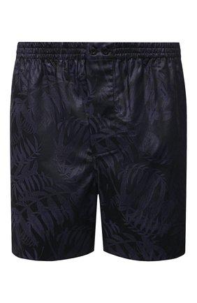 Мужские хлопковые боксеры ZIMMERLI темно-синего цвета, арт. 4737-75101 | Фото 1 (Материал внешний: Хлопок; Кросс-КТ: бельё; Мужское Кросс-КТ: Трусы)