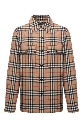 Утепленная куртка-рубашка   Фото №1