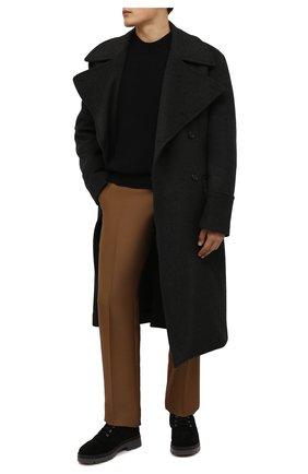 Мужские замшевые ботинки jerico GIUSEPPE ZANOTTI DESIGN черного цвета, арт. IU10024/001 | Фото 2 (Материал утеплителя: Натуральный мех; Подошва: Массивная; Мужское Кросс-КТ: Ботинки-обувь, зимние ботинки; Материал внешний: Замша)