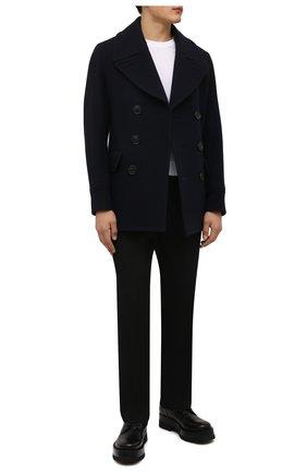 Мужские кожаные ботинки upraise VALENTINO черного цвета, арт. WY0S0E81/LZP | Фото 2 (Подошва: Массивная; Материал внутренний: Натуральная кожа; Каблук высота: Высокий; Мужское Кросс-КТ: Ботинки-обувь, Байкеры-обувь)