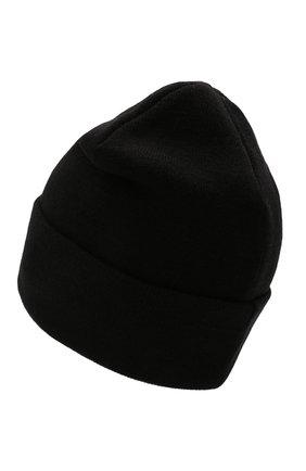 Мужская шапка COMME DES FUCKDOWN черного цвета, арт. CDFA571   Фото 2 (Материал: Синтетический материал, Текстиль, Шерсть; Кросс-КТ: Трикотаж)