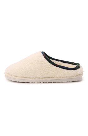 Детского домашние туфли POLO RALPH LAUREN кремвого цвета, арт. 13-RF103119/JUNI0R | Фото 2 (Материал внешний: Текстиль; Материал внутренний: Текстиль)