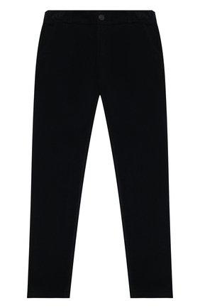 Детские хлопковые брюки DAL LAGO синего цвета, арт. W100/9102/7-12 | Фото 1 (Материал внешний: Хлопок; Мальчики Кросс-КТ: Брюки-одежда)
