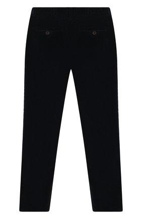 Детские хлопковые брюки DAL LAGO синего цвета, арт. W100/9102/7-12 | Фото 2 (Материал внешний: Хлопок; Мальчики Кросс-КТ: Брюки-одежда)