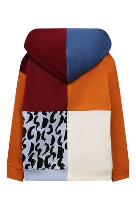Детский хлопковая толстовка DOLCE & GABBANA разноцветного цвета, арт. L4JWBH/G7A9S/8-14   Фото 2 (Материал подклада: Хлопок; Материал внешний: Хлопок; Рукава: Длинные; Мальчики Кросс-КТ: Толстовка-одежда)