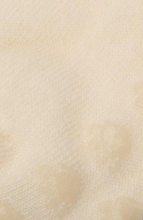 Детские шерстяные носки WOOL&COTTON кремвого цвета, арт. NAML | Фото 2 (Материал: Шерсть)