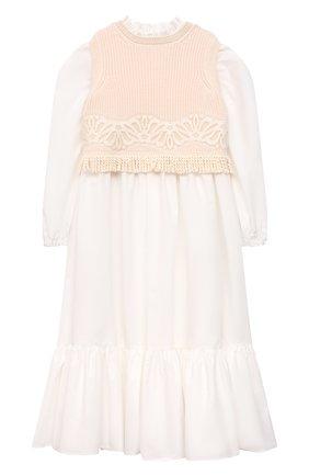 Платье с жилетом | Фото №1