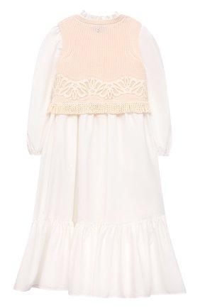Платье с жилетом | Фото №2