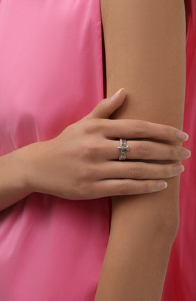 Женское кольцо орел DZHANELLI серебряного цвета, арт. 50/037 | Фото 2 (Материал: Серебро)
